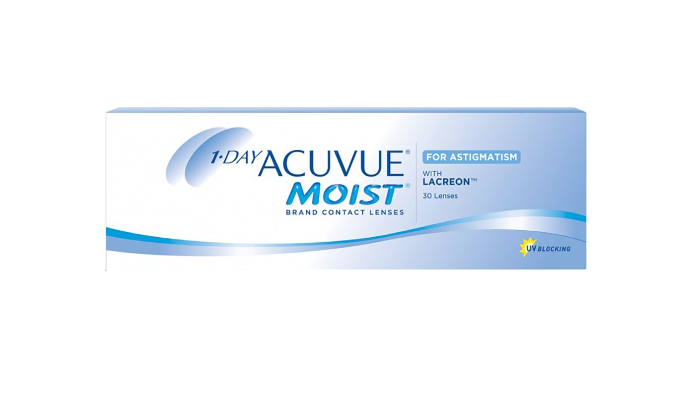 Контактные линзы 1-DAY Acuvue Moist for ASTIGMATISM, 30pk