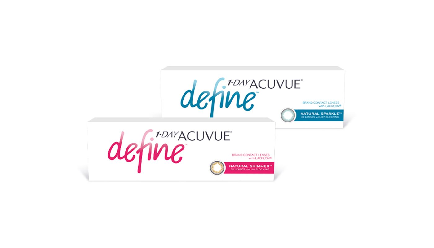 Контактные линзы 1-DAY Acuvue Define, 30pk