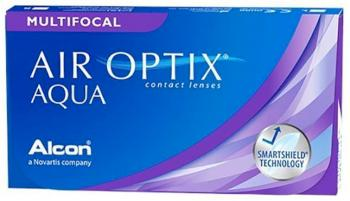 Контактные линзы Air Optix Aqua Multifocal, 3pk
