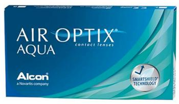 Контактные линзы Air Optix Aqua, 3pk